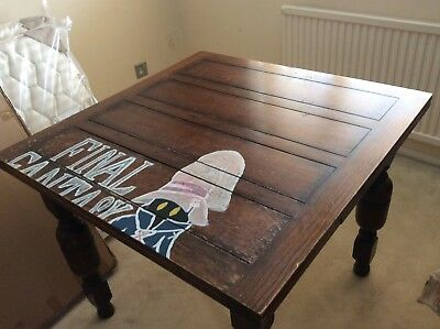 Solid Oak Extending Dining Table Circa 1930's