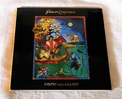 Fairport Convention Rare New Cd Fame And Glory Celtic Arthurian Breton Folklore