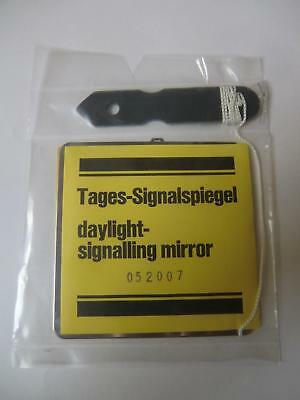 Tages-Signalspiegel -- daylight-signalling mirror