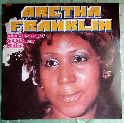 LP  --  Aretha Franklin - Respect & other Hits