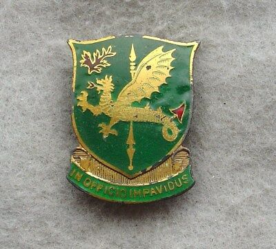 US Army 747th MP Bn Military Police pin DI DUI CREST SB no HMk Sterling   (x700)