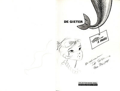 Signed of Gieter Tooot and Well a Paris TL 1000 Ex Ed Points Image Eo
