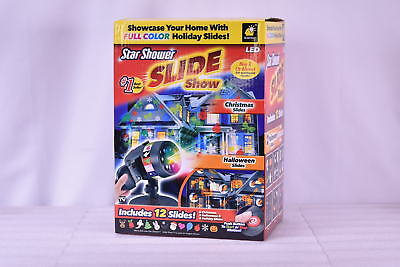 New Star Shower Slide Show by - Includes Full Color Slides Halloween & Christmas