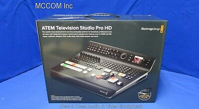 Blackmagic Design ATEM Television Studio Pro HD All in One Live Switcher New