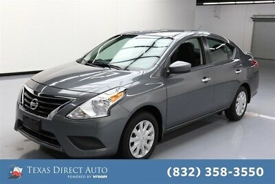 2016 Nissan Versa SV Texas Direct Auto 2016 SV Used 1.6L I4 16V Automatic FWD Sedan