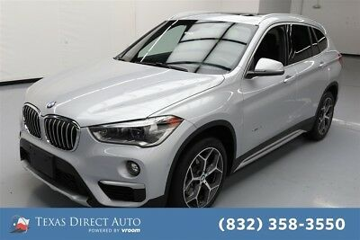 2017 BMW X1 xDrive28i Texas Direct Auto 2017 xDrive28i Used Turbo 2L I4 16V Automatic AWD SUV Moonroof