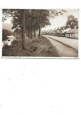 ST FILLANS Looking West Early Perthshire Postcard