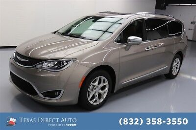 2018 Chrysler Pacifica Limited Texas Direct Auto 2018 Limited Used 3.6L V6 24V Automatic FWD Minivan/Van