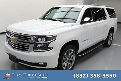 2017 Chevrolet Suburban Premier Texas Direct Auto 2017 Premier Used 5.3L V8 16V Automatic 4WD SUV Moonroof Bose
