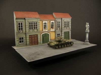 Diorama base in 1:72 scale,   built and painted