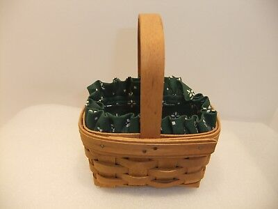 Longaberger 1995  Horizon of Hope Basket with Liner and Protector