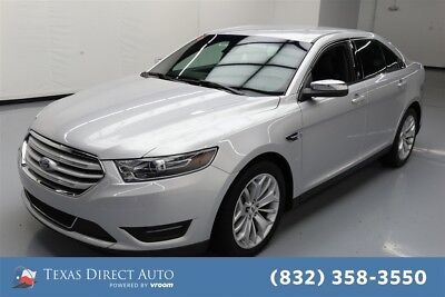 2017 Ford Taurus Limited Texas Direct Auto 2017 Limited Used 3.5L V6 24V Automatic FWD Sedan