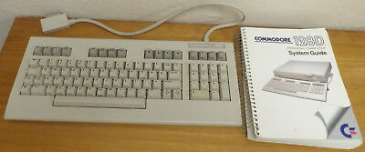 Commodore 128D keyboard (untested) and System Guide book