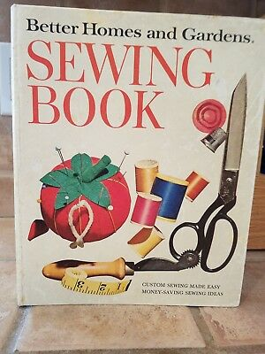 1970 BETTER HOMES AND GARDENS SEWING BOOK Vintage Retro