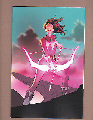 2018 SDCC Exclusive Mighty Morphin Power Rangers #29 Variant Shattered Grid