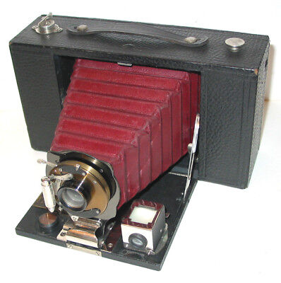 Kodak No.3 Folding Brownie Model D Rollfilmkamera 1909-15 Nice