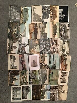 1 House Clearance Attic Find Old Job Lot Of Vintage Classic Rare Post Cards