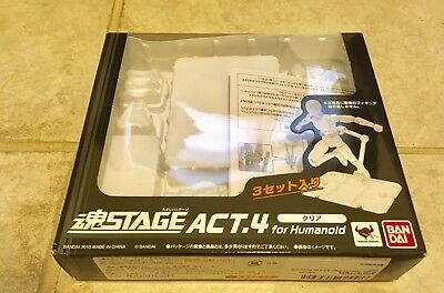 Bandai Tamashii Stage Act 4 Stands Clear Humanoid EMPTY BOX With INSERT