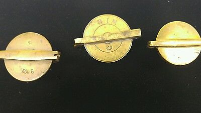 Brass Apothecary Nesting Weight Set