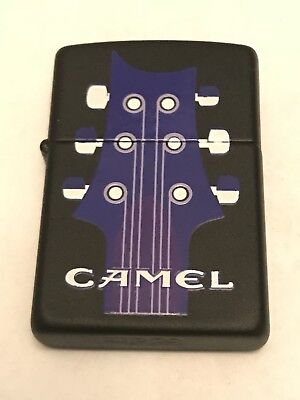 BRAND NEW 1996 Camel Guitar and Music Note Vintage ZIPPO Lighter - Advertising