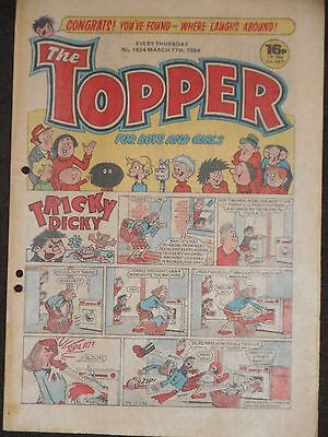 The Topper Comic 17th March 1984  (Issue 1624)
