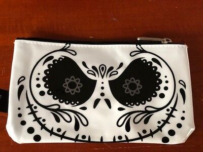 Loungefly Disney Jack Nightmare Before Christmas Pencil Case Tim Burton New w/oT