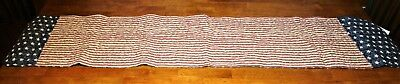 Reversible Patriotic Table Runner By Collections Etc.