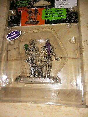 LEMAX SPOOKY TOWN  2018 Moonlight Stroll  #82571 Brand New in Package
