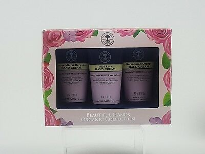 Neal's Yard Remedies Hand Cream Gift Set Beautiful Hands Organic Collection