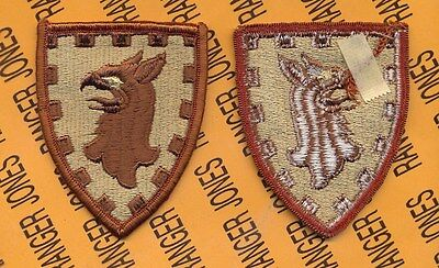 US Army 15th Military Police MP Brigade Desert DCU uniform patch