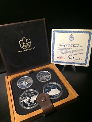 1976 Montreal Olympic Silver Proof Set Fresh!!