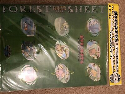Pokemon PokePark Blue & Forest binders (see Description)