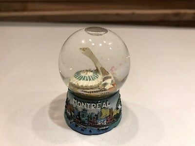 Montreal Snow Globe Canada Landmark Souvenir Travel Collector Gift 2.5""