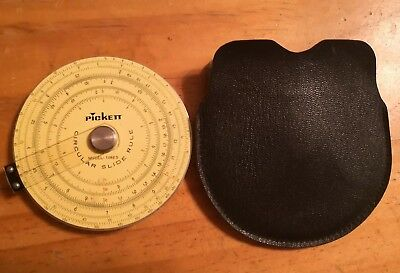 Pickett Circular Slide Rule Model-108ES