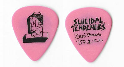 Suicidal Tendencies black on pink Guitar Pick