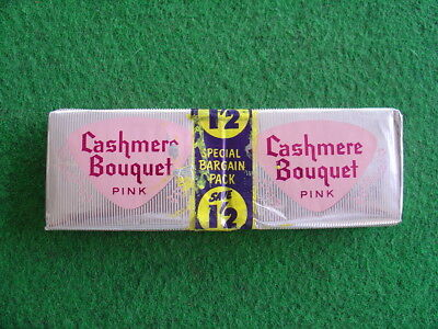 Vintage 60's unused cashmere Bouquet twin-pack soaps/grocery/retro