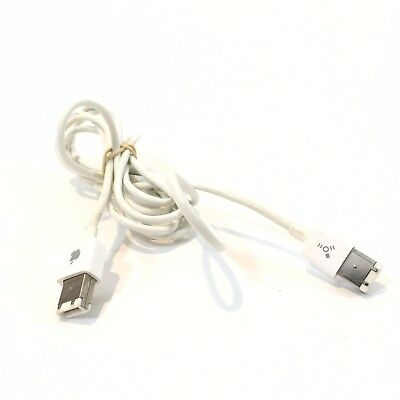 Apple OEM Preowned 6 Pin to 6 Pin Thin White FireWire Cable