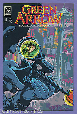 Green Arrow #13 1989 Mike Grell Dan Jurgens DC