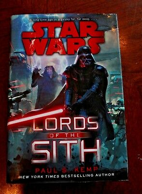 Star Wars: Lords of the Sith 1st Edition Novel (Hardcover 2015) RARE! Read Once