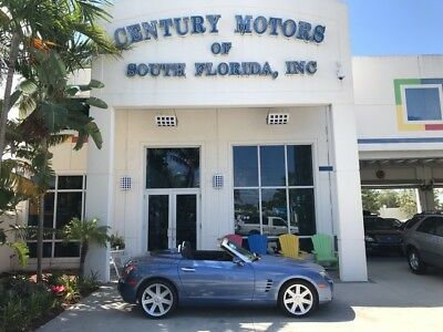 2005 Chrysler Crossfire  Power Convertible Cloth Soft Top Heated Leather Bucket Seats