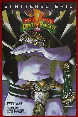 Mighty Morphin Power Rangers Issue #25 Saba Sword Variant Shattered Grid BOOM!