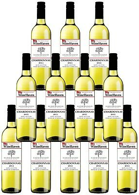 12 x Winehaven Chardonnay Made By Sidewood Estate Adelaide Hills 2011