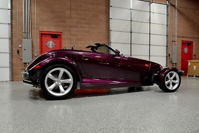 1999 Prowler -- 1999 PLYMOUTH PROWLER Brand New! 255 Original Miles! FLAWLESS SHOWROOM Condition