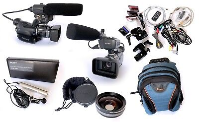 YouTube PRO kit!! - Sony HVR-A1P HDV 1080i PRO Camcorder and accessories