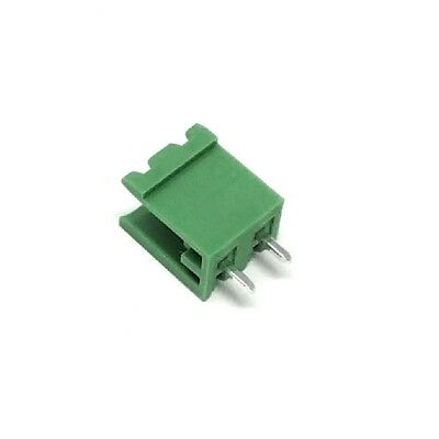4x MSTBV2.5/2-G Pluggable terminal block socket male without side walls