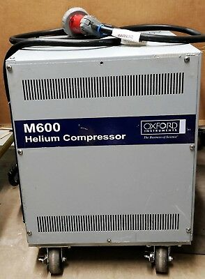 Oxford M600 Helium Compressor w/out Power Cord