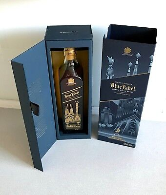 JOHNNIE WALKER Blue Label BARCELONA Limited Edition Design Scotch Whisky 0,7l