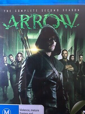 ARROW - Season 2 4 x Disc BLURAY Set Exc Cond! Complete Second Series Two
