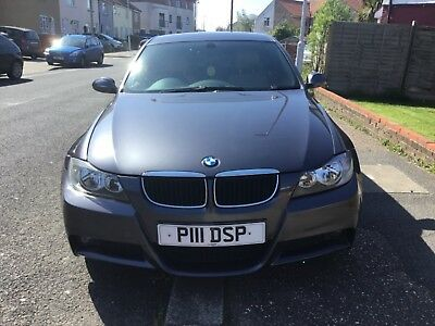 spares or repair non runner Salvage BMW 320i M Sport Auto 2008 Long MOT Leather