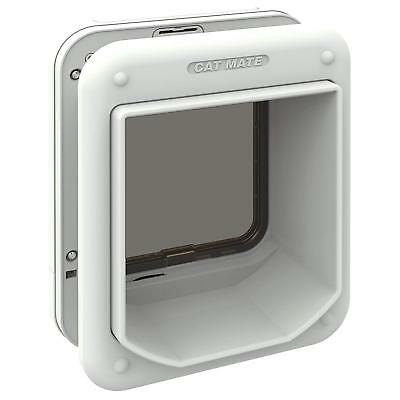 Microchip Electronic Large Cat Flap / Small Dog Micro Chip Coded No Strays Lock